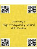 Journey's sight word QR codes