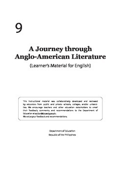 Journey through Anglo American Literature