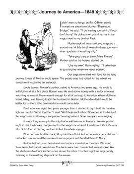 Journey to America - 1848