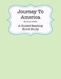 Journey to America Novel Study