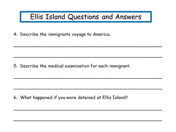 Journey to Ellis Island  by Carol Bierman  42 pgs of Common Core Activities
