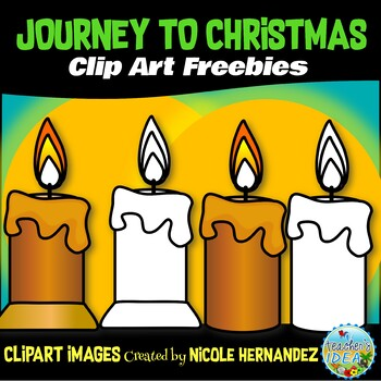 Journey to Christmas (Week 1) Free Clip Art Set for Teachers