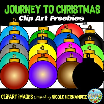 Journey to Christmas (Week 3) Free Clip Art Set for Teachers