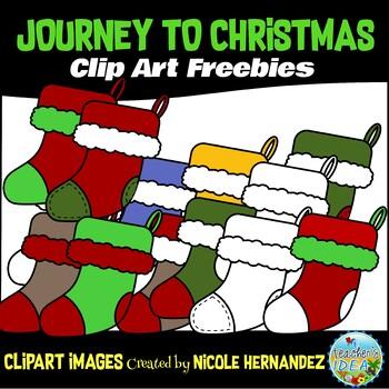 Journey to Christmas (Week 5) Free Clip Art Set for Teachers