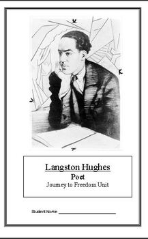 Journey to Freedom: Langston Hughes (Week 6) Common Core Weekly Lesson Plan