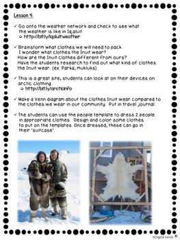 Journey to Iqaluit - An Alberta Grade 2 Social Studies Inquiry Unit