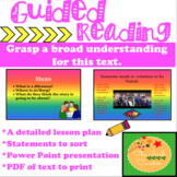 Guided Reading: Lesson Plan and Activities