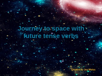 Journey to Outerspace with Future Verbs