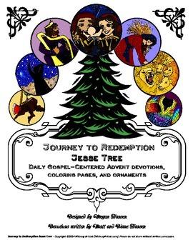Journey to Redemption Jesse Tree: Advent Devotions, Colori