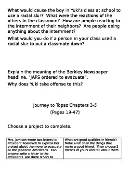 Journey to Topaz Lit Circle Packet
