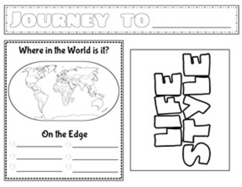 Journey to a Country of Your Choice Research Flipbook