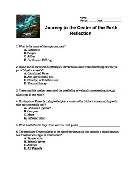 Journey to the Center of the Earth by Amanda Phillips | TpT