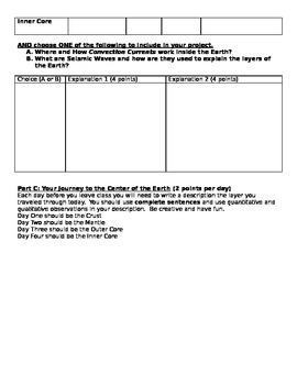Journey to the Center of the Earth Rubric_advanced