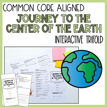 Journey to the Center of the Earth Trifold (5th grade Read