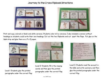 Bible Flip-ups: Journey to the Cross Flipbook