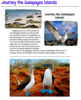 Journey to the Galapagos Islands - Interactive Guide & Questions