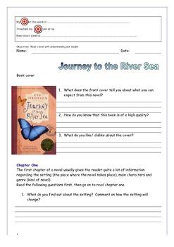 """Journey to the River Sea"" workbook - Eva Ibbotson"