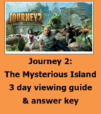"""Journey 2 """"The Mysterious Island"""" 3 day movie guide & answ"""