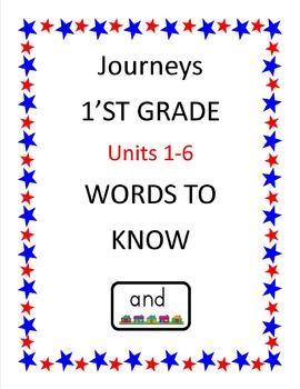 Journeys 1'st Grade