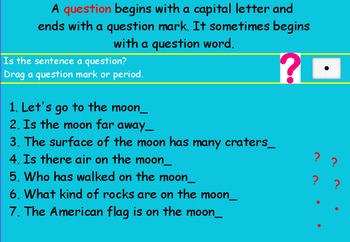 Let's Go To The Moon Promethean Board Flipchart-Journeys