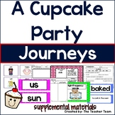 A Cupcake Party Journeys 1st Grade Unit 2 Lesson 10 Activities and Printables