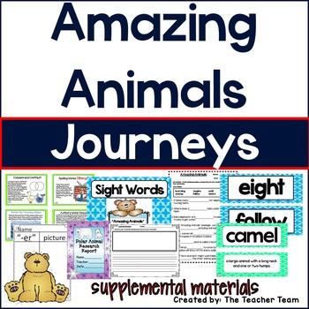 Amazing Animals Journeys 1st Grade Supplemental Materials