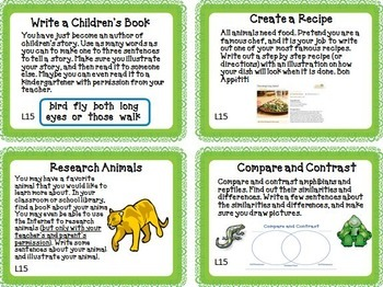 Animal Groups Journeys 1st Grade Unit 3 Lesson 15 Activities and Printables
