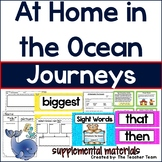 At Home in the Ocean Journeys 1st Grade Unit 3 Lesson 11 Activities & Printables