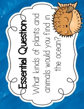 Journeys 1st Grade At Home in the Ocean {Unit 3, Lesson 11}
