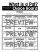 Journeys 1st Grade Choice Boards - Unit 2
