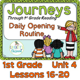 Journeys 1st Grade Daily Routine, Unit 4