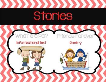 Journeys 1st Grade Focus Wall Unit 1 Lesson 1