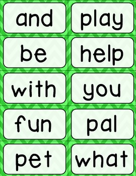 Journeys 1st Grade High Frequency and Vocab for Word Wall: Colorful Chevron