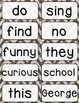 Journeys 1st Grade High Frequency and Vocab for Word Wall: Glitter Chevron