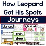 How Leopard Got His Spots Journeys 1st Grade Unit 3 Lesson 12 Activities