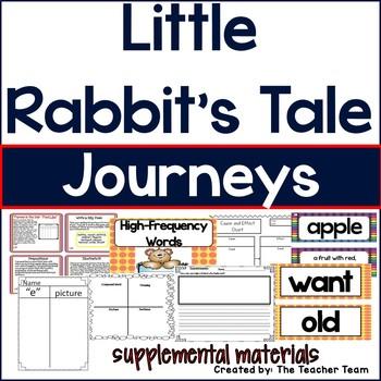 Little Rabbit's Tale Journeys 1st Grade Supplemental Materials