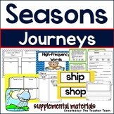 Seasons Journeys 1st Grade Unit 3 Lesson 13 Activities and Printables