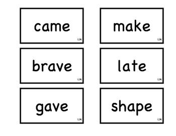 Journeys 1st Grade Spelling Flash Cards L11-15
