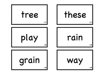 Journeys 1st Grade Spelling Flash Cards L16-18
