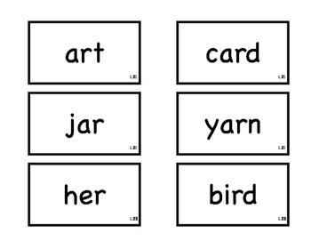Journeys 1st Grade Spelling Flash Cards L21-23