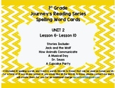 Journey's 1st Grade Spelling-- Unit 2 Word Cards