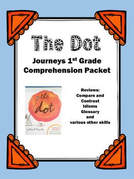 "Journeys 1st Grade ""The Dot"" Comprehension Packet"