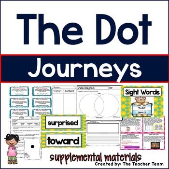The Dot Journeys 1st Grade Supplemental Materials