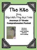 "Journeys 1st Grade ""The Kite from Days with Frog and Toad"" Comprehension Packet"