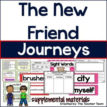 The New Friend Journeys 1st Grade Supplemental Materials