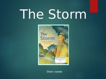 Journey's 1st Grade The Storm Spelling Powerpoint