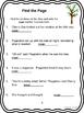"Journeys 1st Grade ""The Tree"" from Poppleton Forever Comprehension Packet"