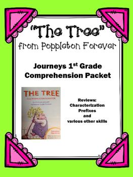 """Journeys 1st Grade """"The Tree"""" from Poppleton Forever Compr"""