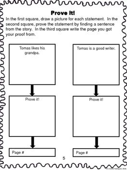 "Journeys 1st Grade ""Tomas Rivera"" Comprehension Packet"