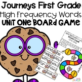 Journeys 1st Grade Unit 1 Board Game High Frequency Words